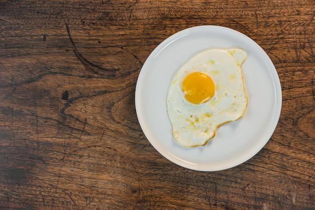 Cocina frito huevo frito cocina