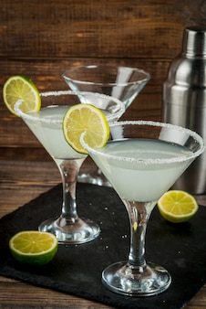 Cóctel de alcohol margarita