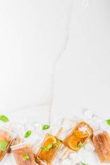 Cóctel congelado cuba libre