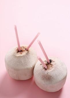 Cócteles de coco