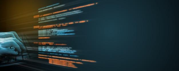 Codificación de fuente de software.