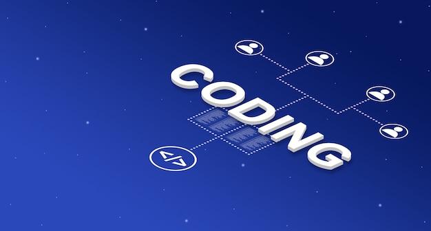 Codificación en el sistema con iconos de usuario 3d