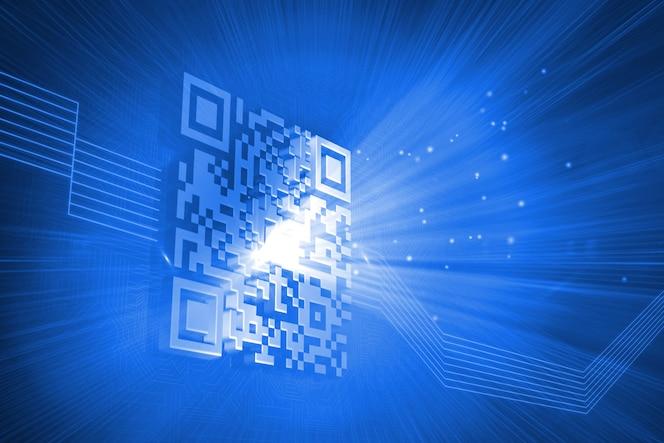 Código de barras generado digitalmente