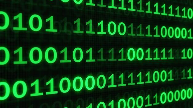 El código verde hizo que la programación de fondo oscuro