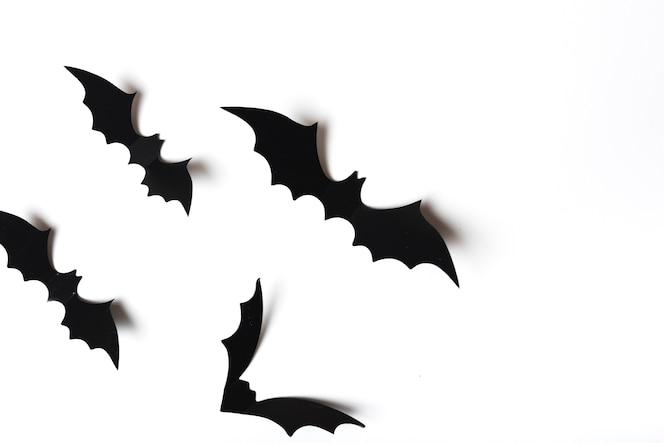 Colección de murciélagos espeluznantes