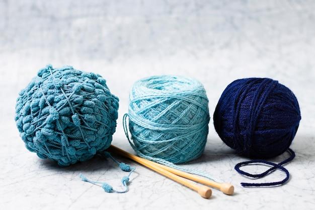 Colección de lana de tejer