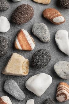 Colección de piedras planas