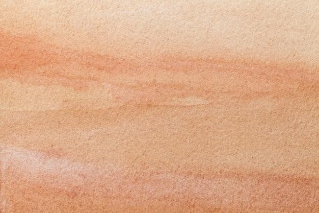 Color de fondo anaranjado claro del arte abstracto. pintura multicolor sobre lienzo.