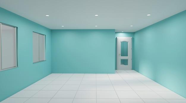 Color de la habitación vacía del año.