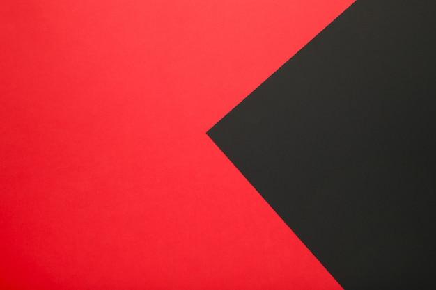 Color de papel negro y rojo para. viernes negro