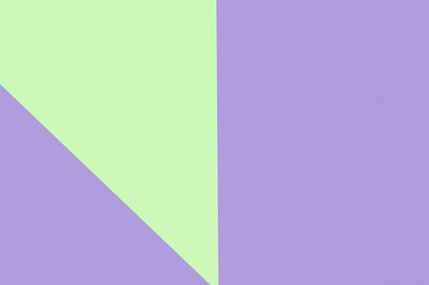 Color de papel pastel verde y morado para el fondo de textura
