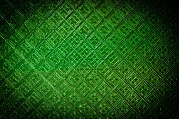 Color verde de vidrieras