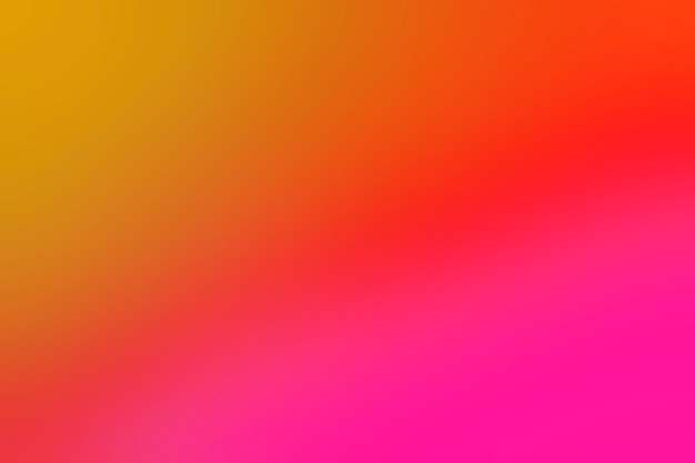 Colores cálidos y brillantes mezcla