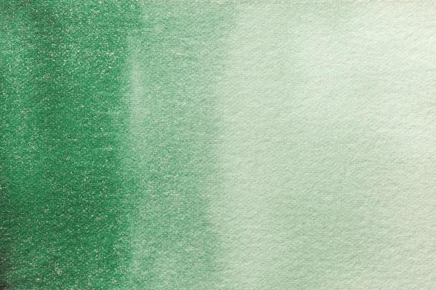 Colores de fondo verde oliva y verde claro del arte abstracto. acuarela sobre lienzo.