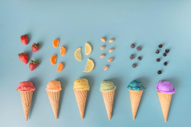 Colores de helado