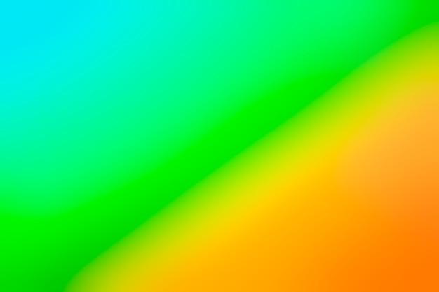 Colores vivos en gradación