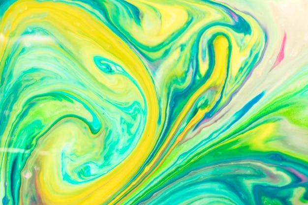 Colorida paleta de textura de aceite