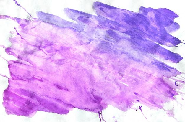 Colorido azul violeta rosa acuarela para fondo de pantalla. ilustración de color brillante de acuarela