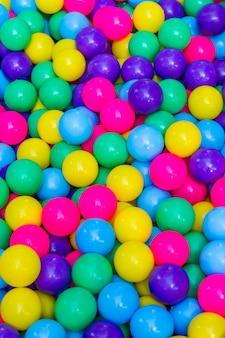 Colorido color de la bola y colorido de fondo