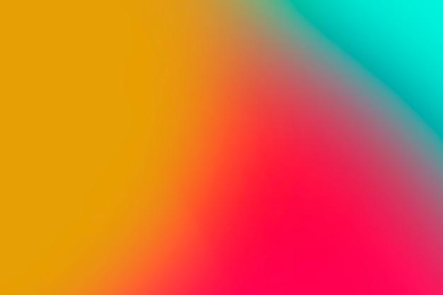 Colorido conjunto de tonos degradados