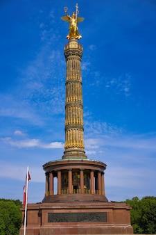 Columna de siegessaule en berlín, alemania