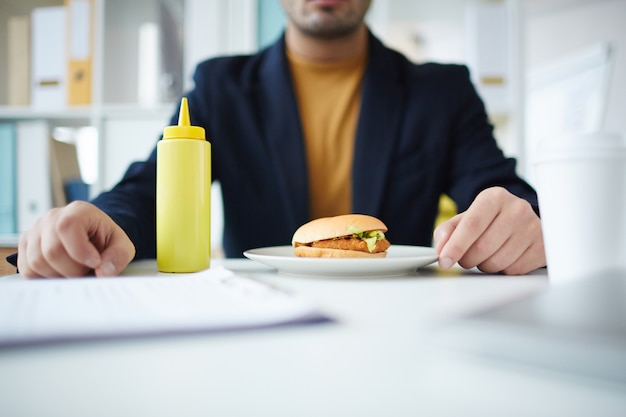 Comer por lugar de trabajo