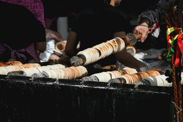 Comida callejera en praga