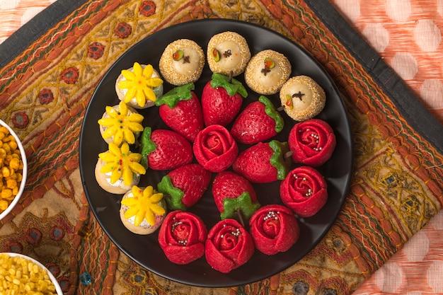 Comida dulce de frutas secas