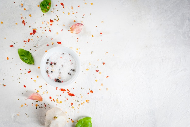Comida con especias