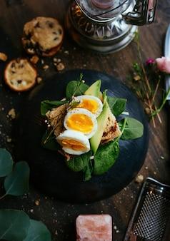Comida de huevo