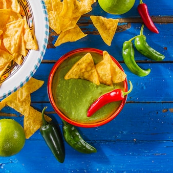 Comida mexicana decorativa