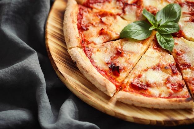 Comida de pizza