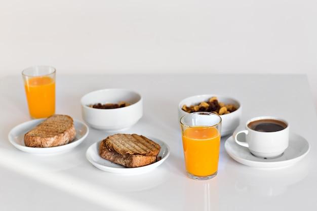 Comida saludable para el desayuno