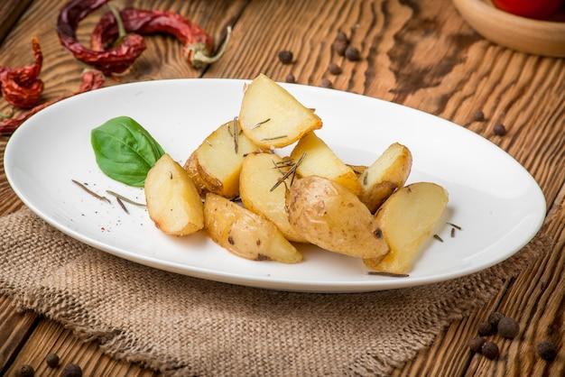 Comida sana comida hermosa y sabrosa en un plato
