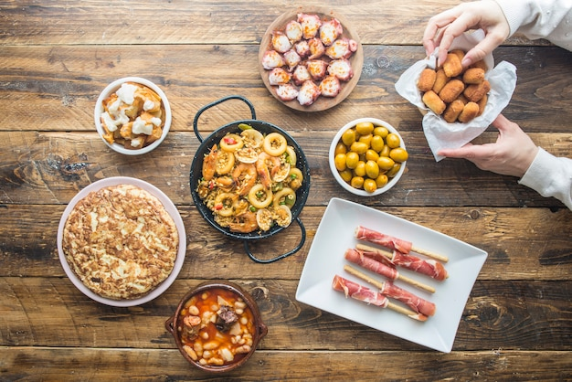 Comida tipica española