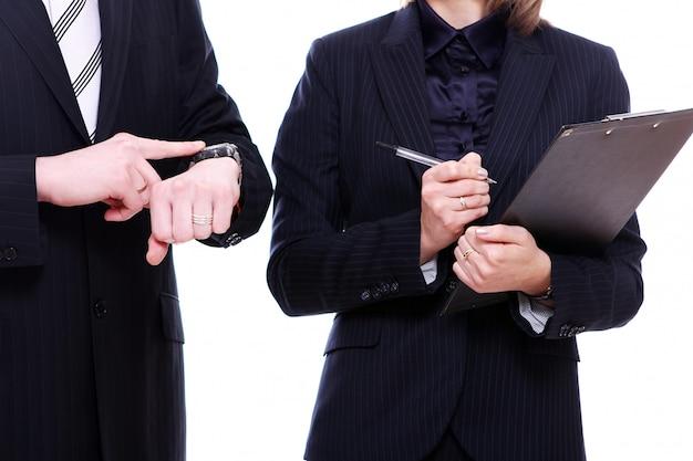 Compañeros de negocio