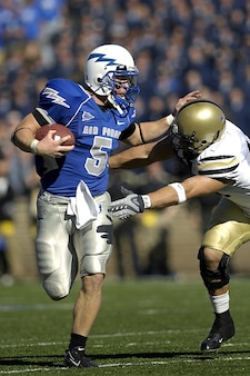 Competición deportiva quarterback de fútbol americano