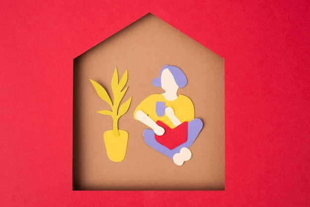Composición de aislamiento de estilo de papel