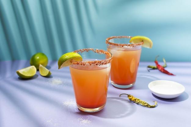 Composición de bebida picante michelada