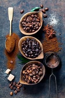 Composición del café