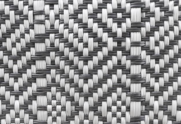 Composición de cesta de paja plana