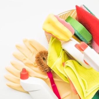 Composición de concepto de limpieza