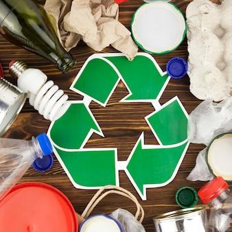 Composición de reciclaje