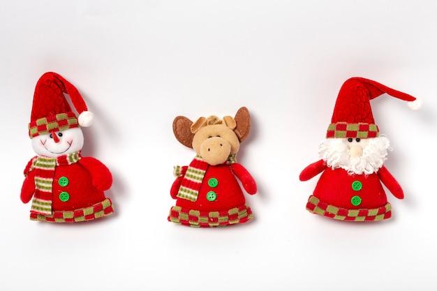 Composición de decoración navideña