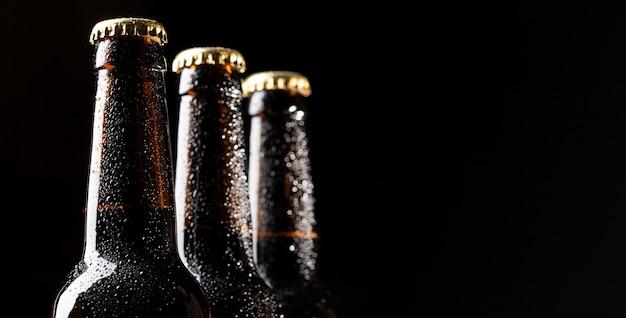Composición de deliciosa cerveza americana