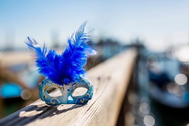 Composición elegante del carnaval de venecia