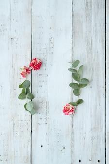 Composición con hermosas flores. Foto gratis