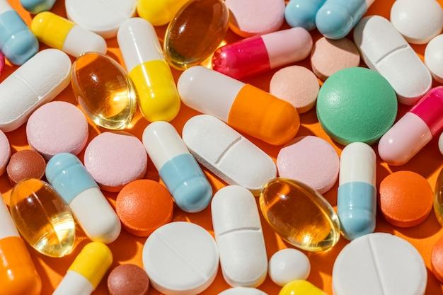 Composición mínima de píldoras medicinales.