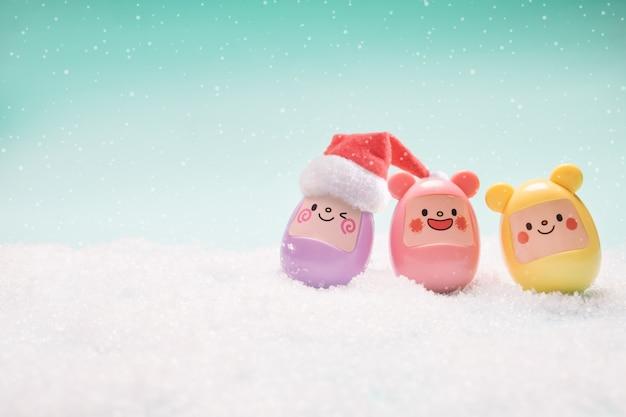 Composición de navidad regalo de navidad.