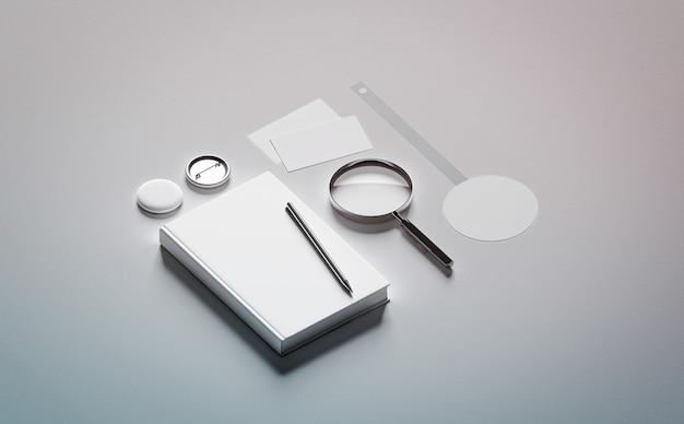 Composición de la presentación del libro simulacro